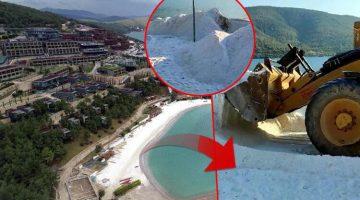 Bodrum plajlarındaki tehlike için harekete geçildi! Dün sabah başladı
