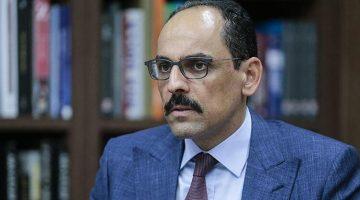 Cumhurbaşkanlığı Sözcüsü İbrahim Kalın'dan flaş S-400 açıklaması