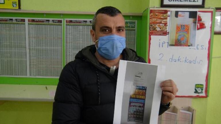 Aydınlı gence Kazı Kazan Para Yağmurunda 2 milyon liralık büyük ikramiye çıktı