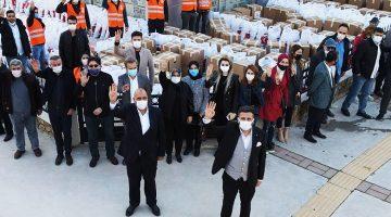 İzmir Buca Ak Parti 'den Ramazanda El Ele