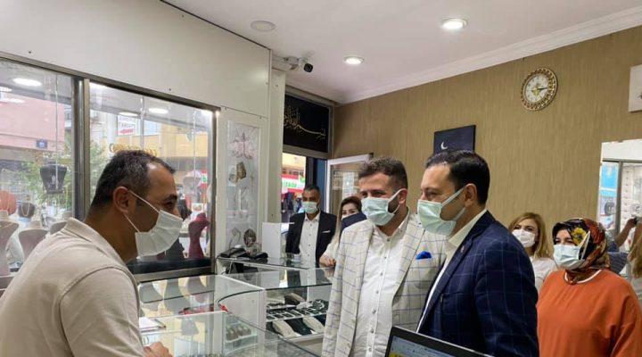 AK Parti İzmir Milletvekili Mahmut Atilla Kaya Ziyaretlerine Buca'da Devam etti.