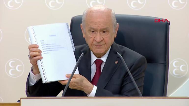 Son dakika... MHP Genel Başkanı Bahçeliden yeni anayasa açıklaması: Metin yazımı sonuçlandı