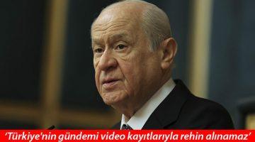 'Soylu yalnız değildir…' Bahçeli: Kimse İçişleri Bakanı'nın boynuna tasma geçiremez
