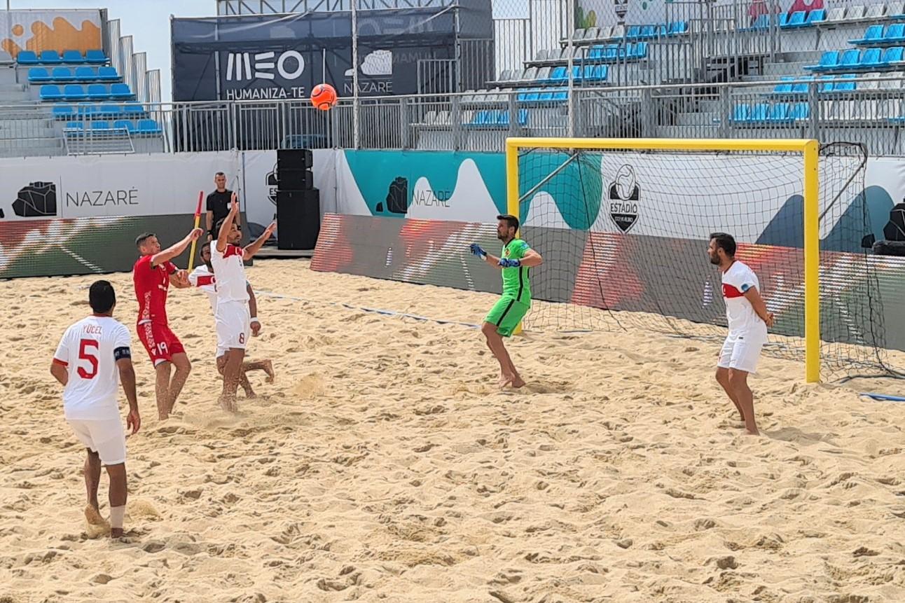 Plaj Futbolu Milli Takımı, Belarus'a 8-2 mağlup oldu