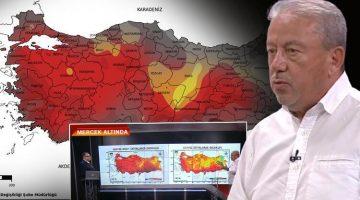 'Harita hemen hemen her şeyi gösteriyor' dedi ve kuraklık uyarısında bulundu