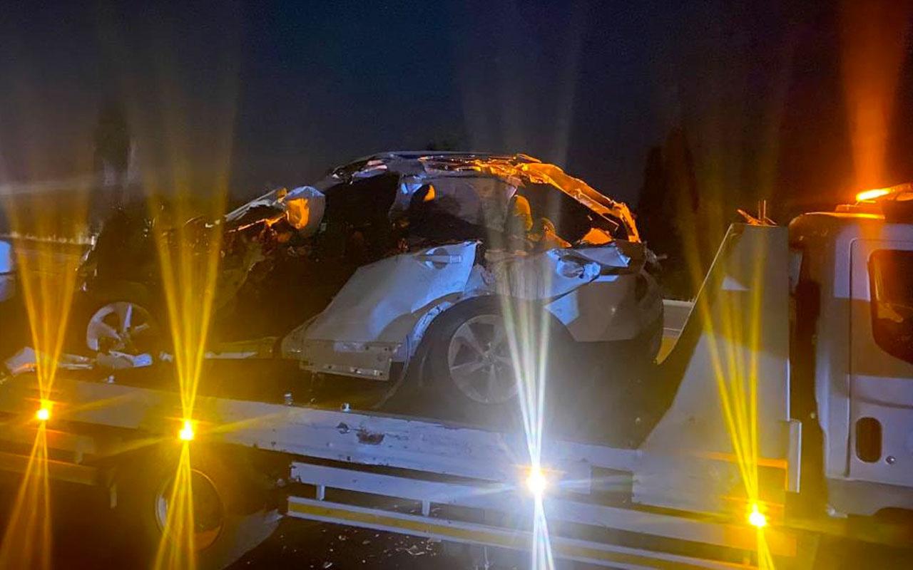 Afyonkarahisar'da zincirleme trafik kazasında aynı aileden 4 kişi hayatını kaybetti