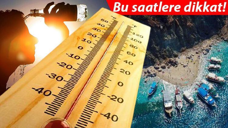 Aşırı sıcak uyarısı! Harita paylaşıldı… 40 dereceyi aşacak