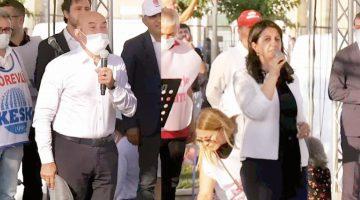 İzmir mitingine 'CHP, HDP'ye dönüşüyor' eleştirisi