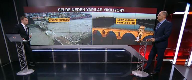 Sel felaketini yaşayan Bozkurt ilçesinin haritası çıkarıldı Evler neden yıkıldı Canlı yayında anlattı