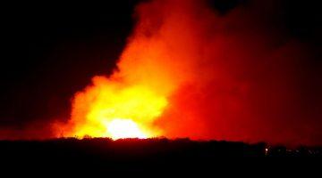 Kula'daki orman yangını kontrol altında