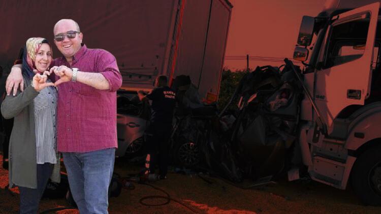 Manisa'da korkunç kaza! TIR kırmızı ışıkta bekleyen 5 araca çarptı: 3 can kaybı