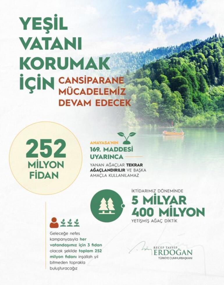 Son dakika: Orman yangınıyla mücadelede yeni karar Cumhurbaşkanı Erdoğan: Görevli olmayanlar bundan böyle yangın mahalline alınmayacaktır