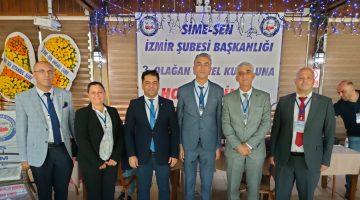 SİME-Sen İzmir Şubesi güven tazeledi