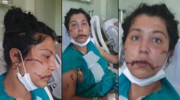 İzmir'de kocası banyoya kilitleyip defalarca bıçakladı: Bebeği üzerine atıp…