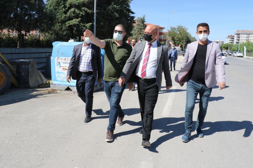 Manisa Büyükşehir Belediyesi'nde Çalışmalar devam ediyor