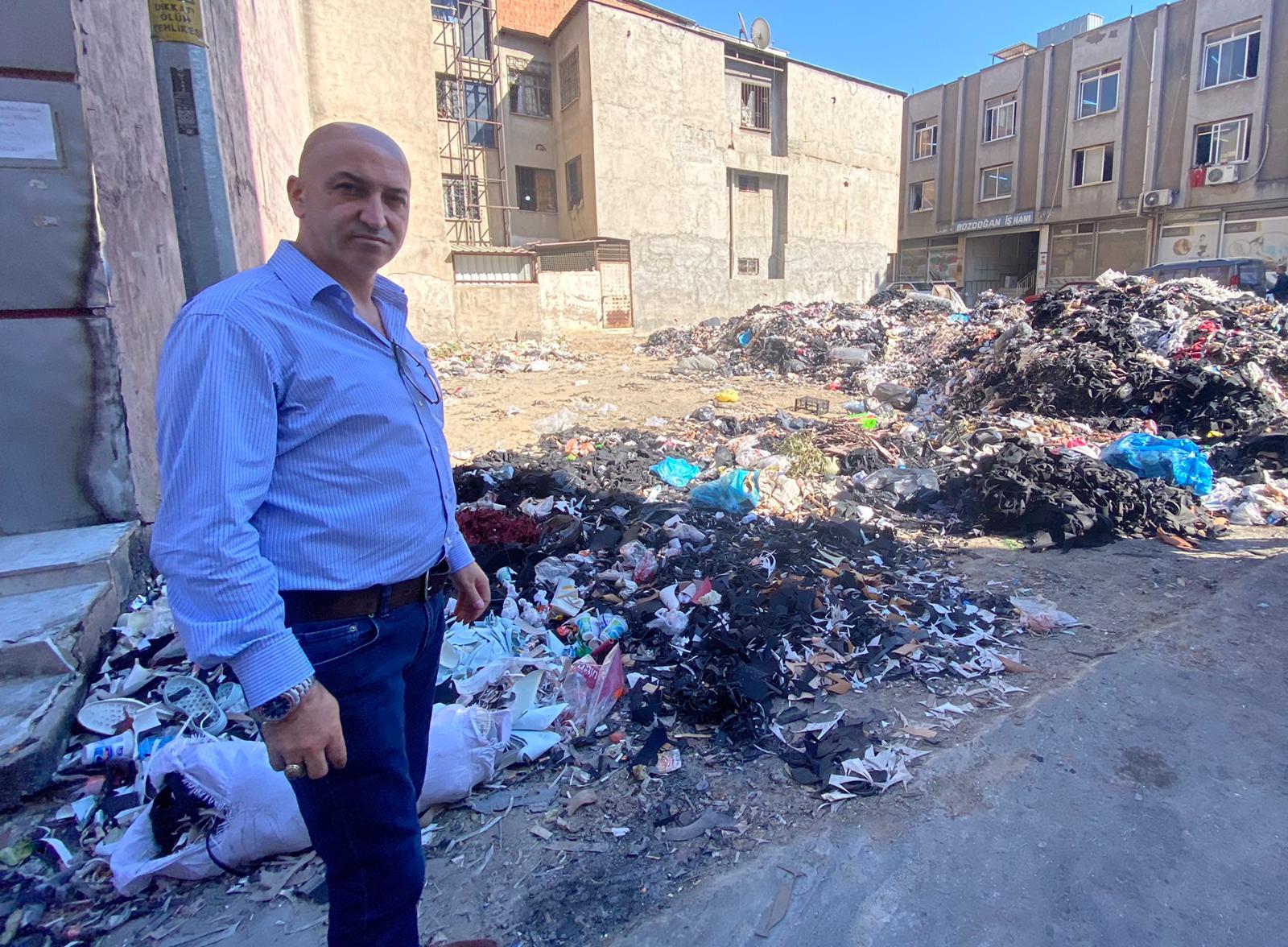 Bornova Işıkkent, adeta çöplükkent