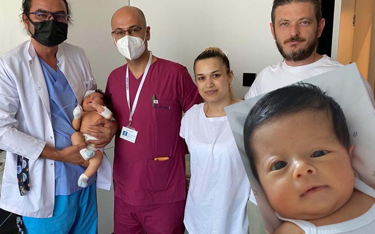 İki aylık bebeğin kafatası birden yamuk büyümeye başladı! Doktorlar uyardı babaanne yöntemi denemeyin!